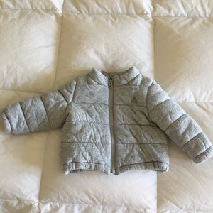 BabyGap Jersey Puffer Coat